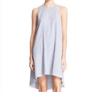 Theory Alderdale Grey Short Casual Dress Size 8